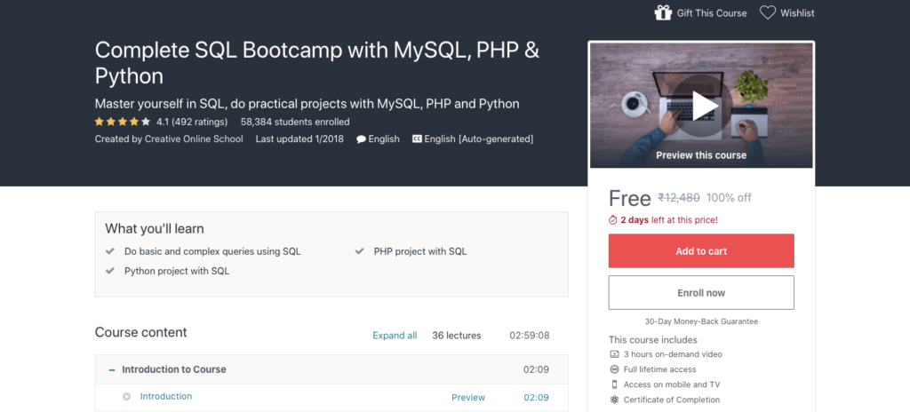 Free-Complete-SQL-Bootcamp-with-MySQL-PHP-&-Python-Course-with-Certification