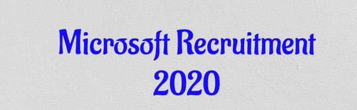 Microsoft-Recruitment-2020