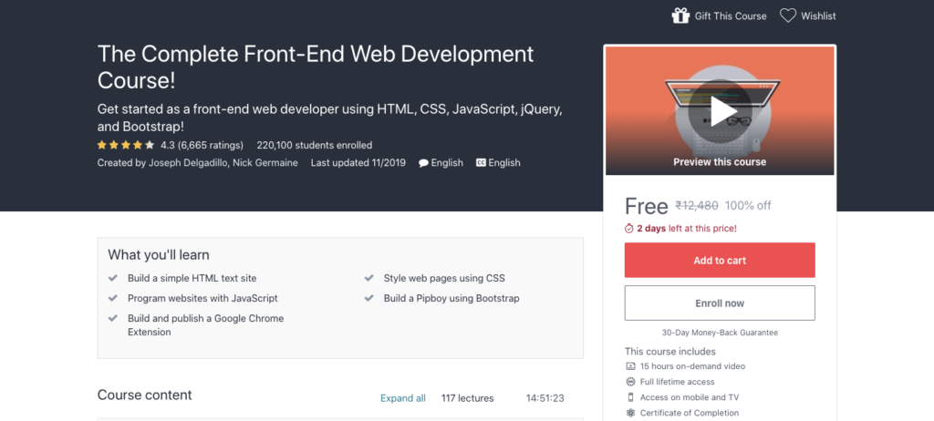 Complete-Front-End-Web-Development-Course