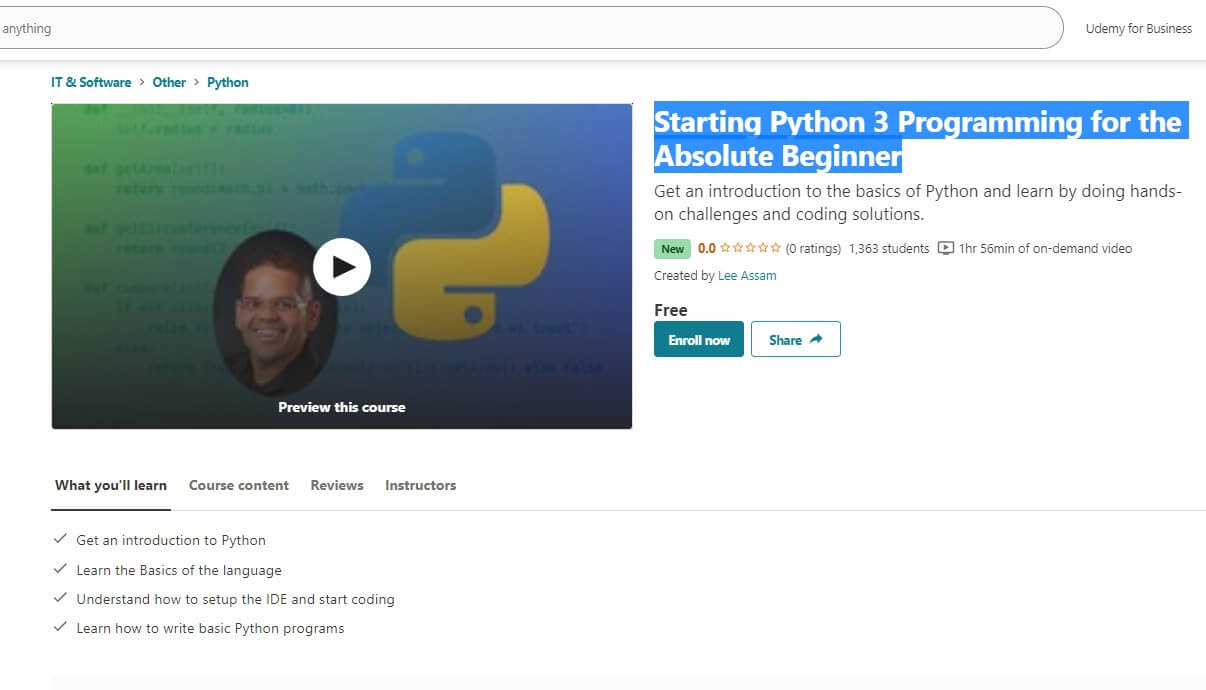 starting-Python-3-Programming-for-the-Absolute-Beginner.