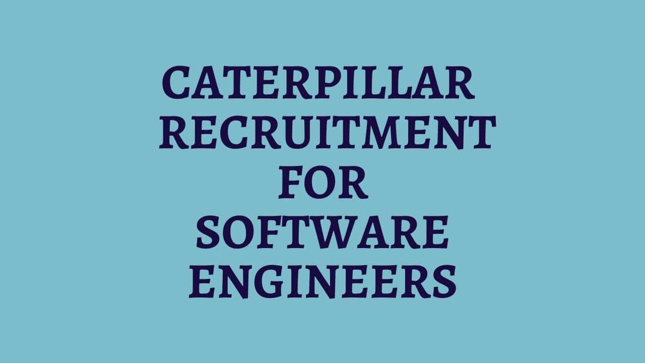Caterpillar-Jobs-Recruitment-for-Software-Engineers