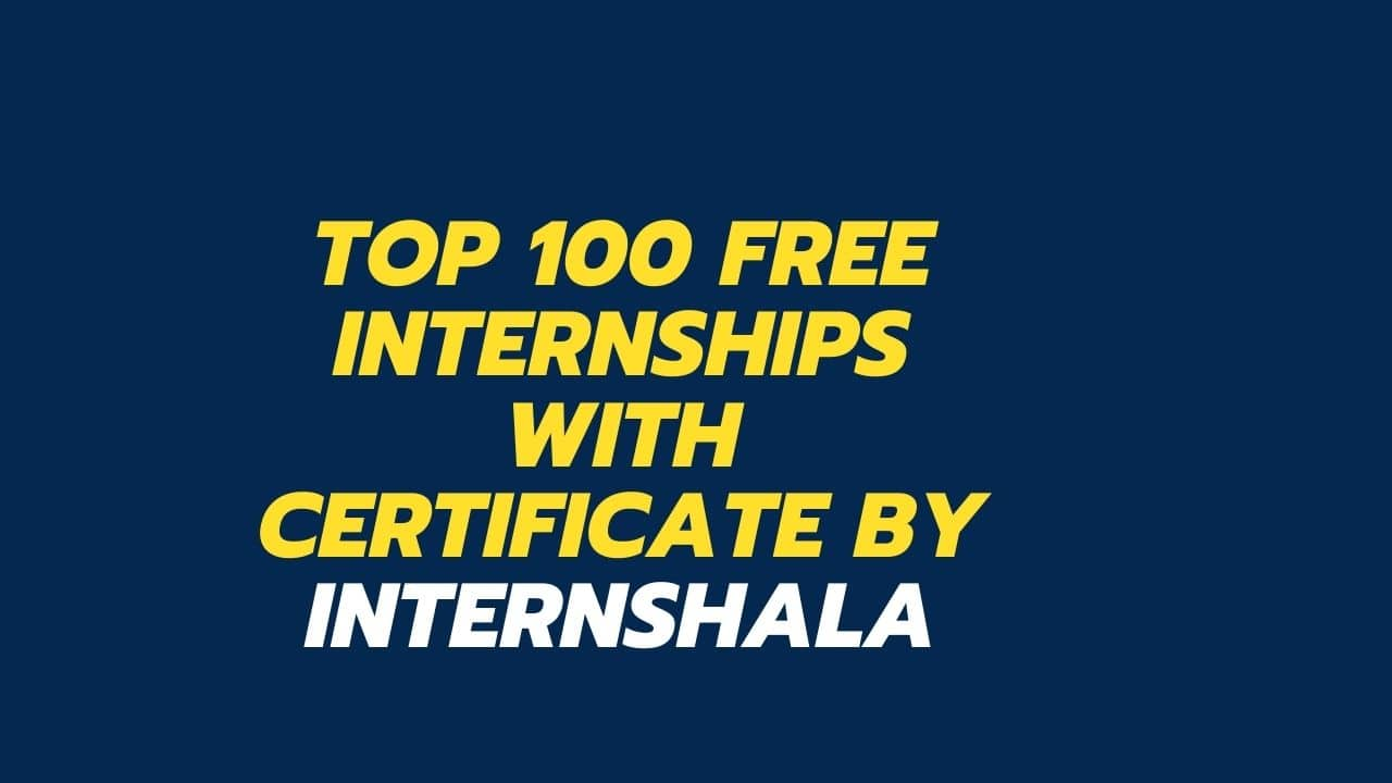 Free-Internships-with-Certificate