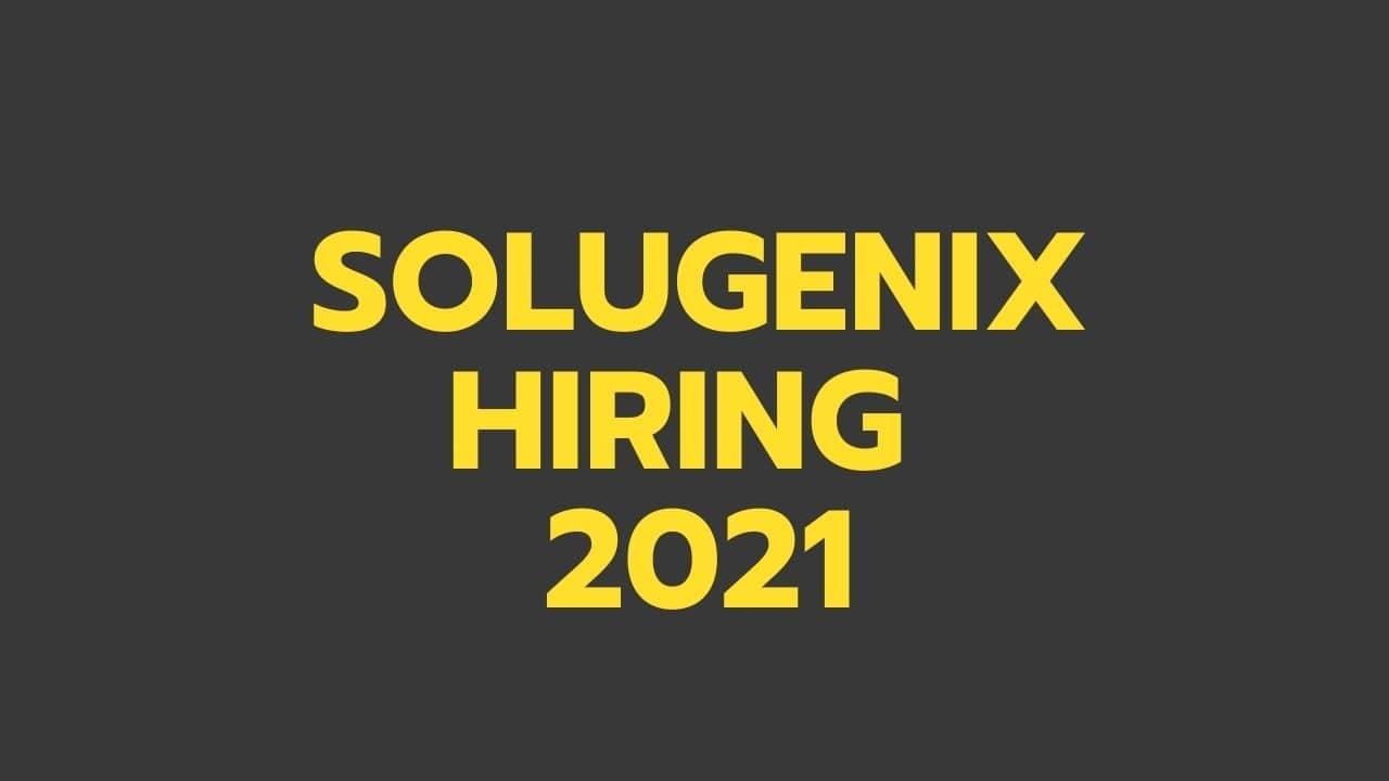 Solugenix-Hiring-2021