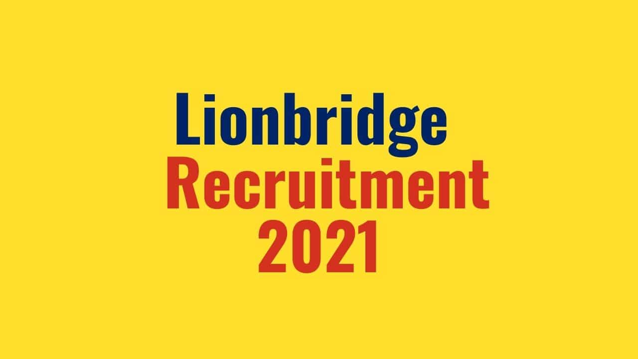 lionbridge-Recruitment-2021