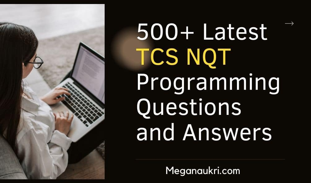 TCS-NQT-Programming-Questions-and-Answers