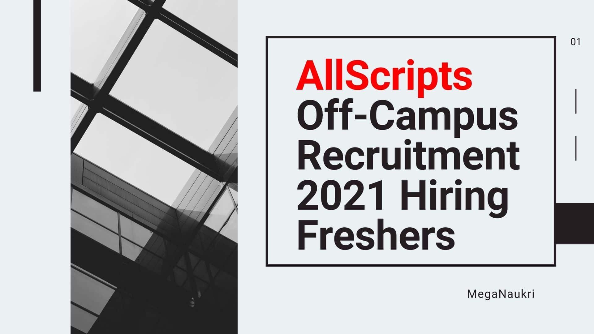 AllScripts-Off-Campus-Recruitment-2021